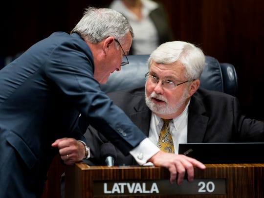 In this 2014 file photo, Sen. Jack Latvala, R-Clearwater,