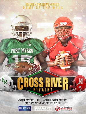 Fort Myers will travel to rival North Fort Myers for a Region 6A-3 semifinal that is the News-Press/InZone Game of the Week