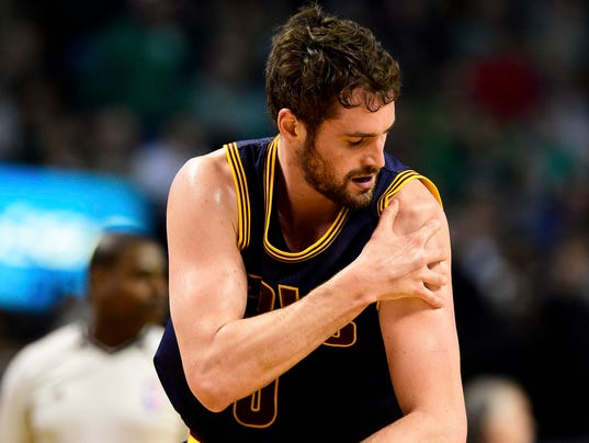 Cavs championship hopes take hit with Kevin Love injury