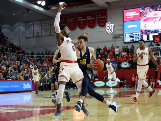 NCAA Basketball: Marquette at St. John