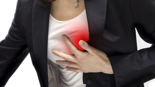 Heart disease is the No. 1 killer of women.