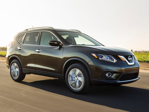 The 2014 Nissan Rogue introduced jointly in the U.S. and at the Frankfurt Motor Show.