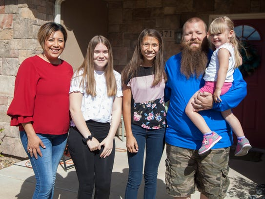 Marisa Barnson, named Foster Mom of the Year, spends