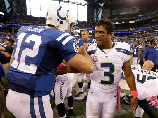 Could we see an Andrew Luck-Russell Wilson matchup