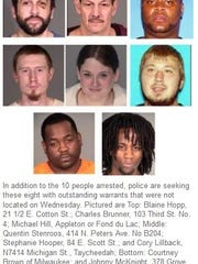 These were some of the suspects who were sought as