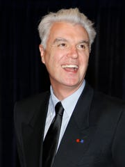 "David Byrne teamed up with Fatboy Slim on the music for the theater production ""Here Lies Love,"" has been shepherding the show for 10 years."