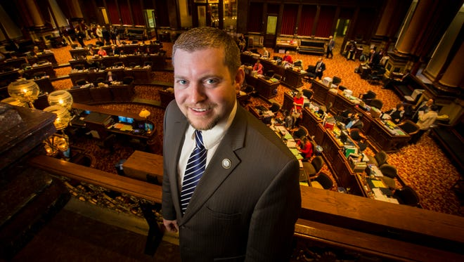 "Jake Chapman is the youngest member of the Iowa Senate at 30. He has championed lifting a ban on commercial fireworks, saying, ""It's not just about the fireworks themselves. It's freedom. I'm about allowing Iowans to have a freedom they didn't have last year."""