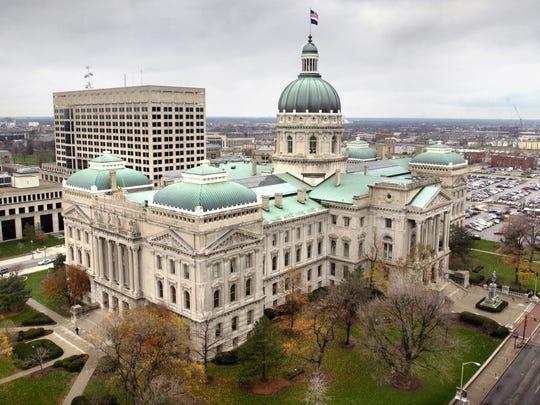 Indiana Statehouse.