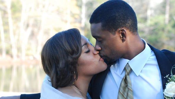 Ercilla Dometz-Hendrix and Tyrone Hendrix wed on December