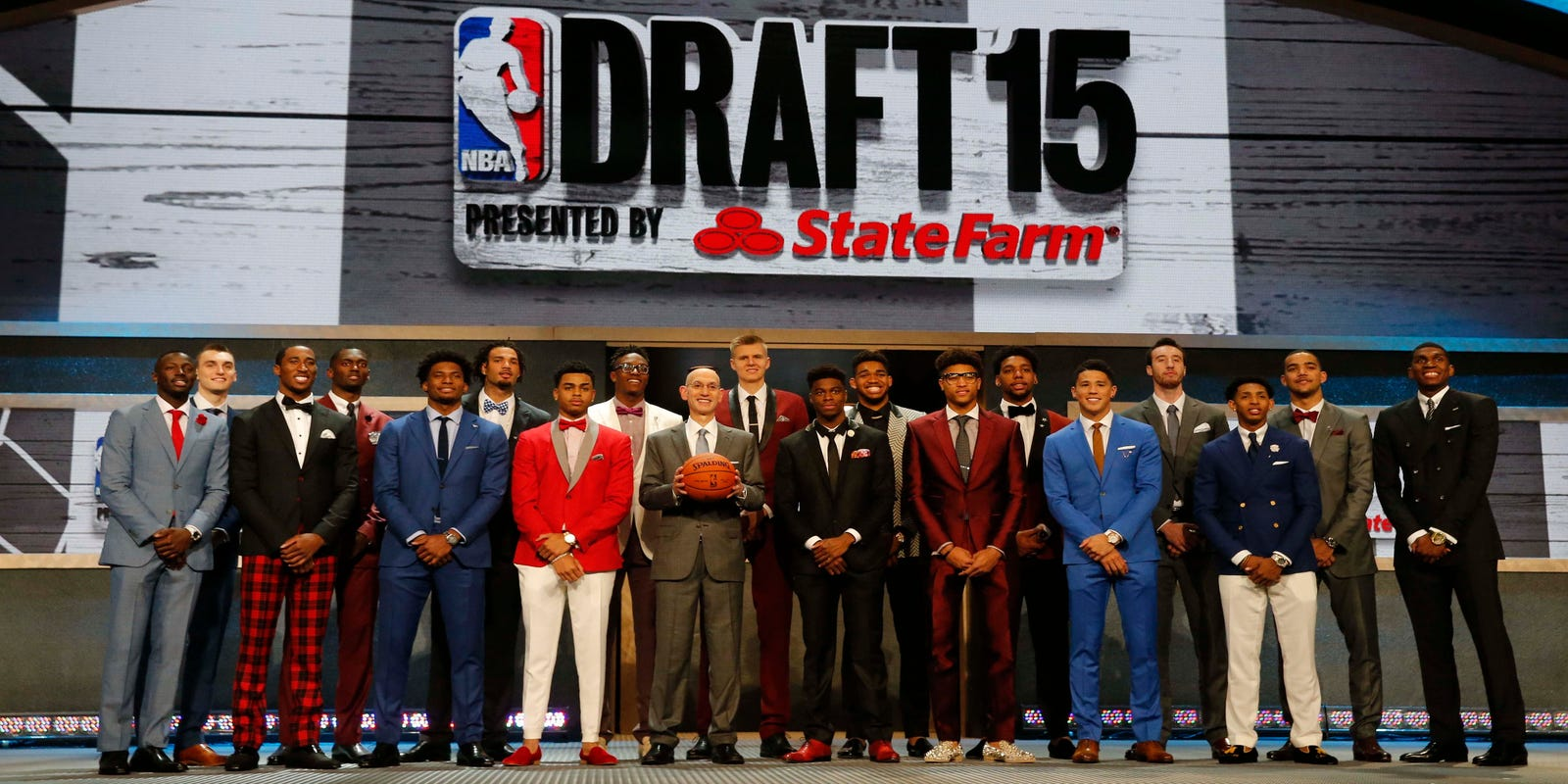 List: 2015 NBA draft selections