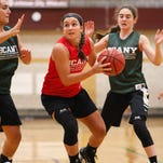 Action from the BCANY Summer Hoops Fest Section 4 girls team