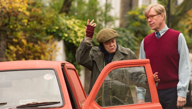"""Maggie Smith (left) and Alex Jennings in a scene from """"The Lady in the Van."""""""
