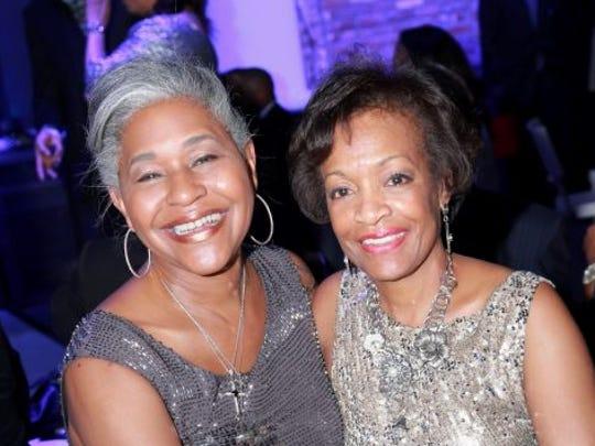 Juliette Okotie-Eboh and Linda Forte