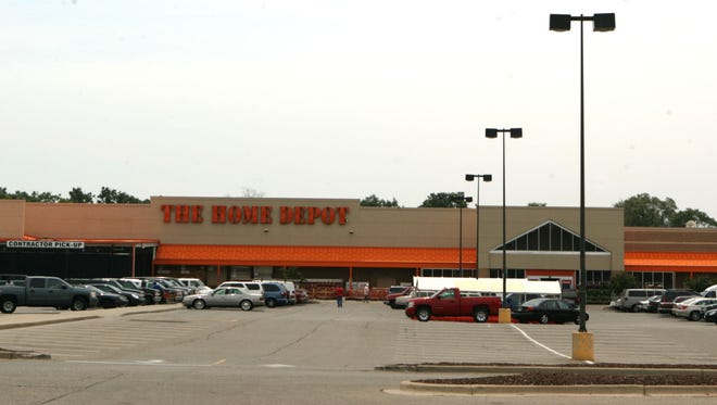 The Home Depot on Meyers in Detroit employees over 200 people working in 104,000 square feet and is the busiest Home Depot store in the state according to the district manager Christopher Gilbert. Photographed on Friday July 10, 2009