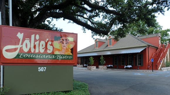 Jolie's Louisiana Bistro closed its doors after Valentine's Day service.