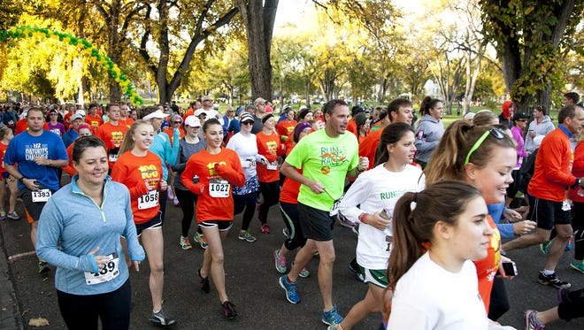 Saturday's popular CSU Homecoming 5K will feature a new course around Hughes Stadium,which replaces the traditional on-campus course.