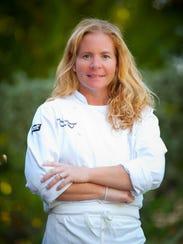 Chef-owner Melissa Talmage of  Sweet Melissa's Cafe on Sanibel.