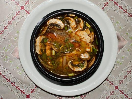 Tuppee Tong's Tom yan soup.