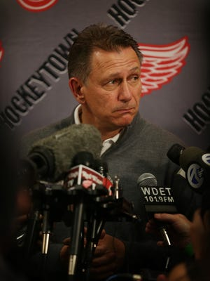 Detroit Red Wings GM Ken Holland.