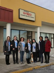 Seven of the 66 nurse anesthetists who were let go on Dec. 31 from St. John Providence Health System's Southfield and Novi hospitals after refusing to be outsourced to a new outside anesthesia services contractor visited a Michigan Works! office in Livonia to file for unemployment benefits on Thursday, January 7, 2016.
