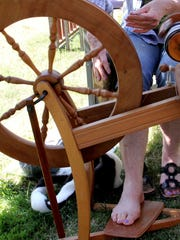 See wool become yarn at  Sheep to Shawl 10 a.m. to 4 p.m. Saturday, May 13, at Willamette Heritage Center. The event is free.