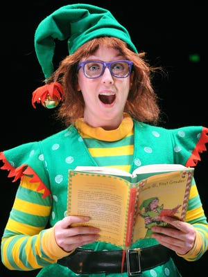 """Kate Haas takes on the title role in Childplay's annual holiday show """"Junie B. in Jingle Bells, Batman Smells!"""""""