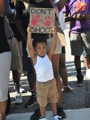 Ferguson child don't shoot