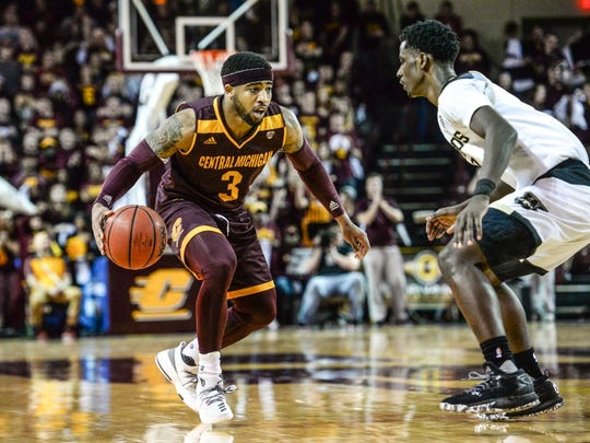 Central Michigan junior Marcus Keene is averaging 30.2 points a game entering Tuesday night's game.