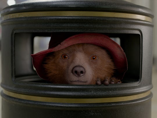 "Paddington (voiced by Ben Whishaw) is in another muddle in ""Paddington 2."""