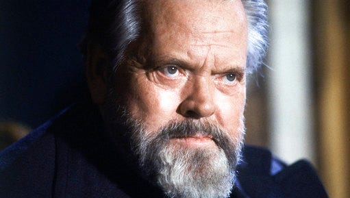 """FILE - This Feb. 22, 1982 file photo shows actor and movie director Orson Welles during a press conference in Paris. Netflix has acquired the global rights to Welles' """"The Other Side of the Wind"""" and will finance its completion and restoration. Netflix's announcement Tuesday, March 14, 2017, brought to a close the decades-long mystery surrounding one cinema's greatest filmmakers."""
