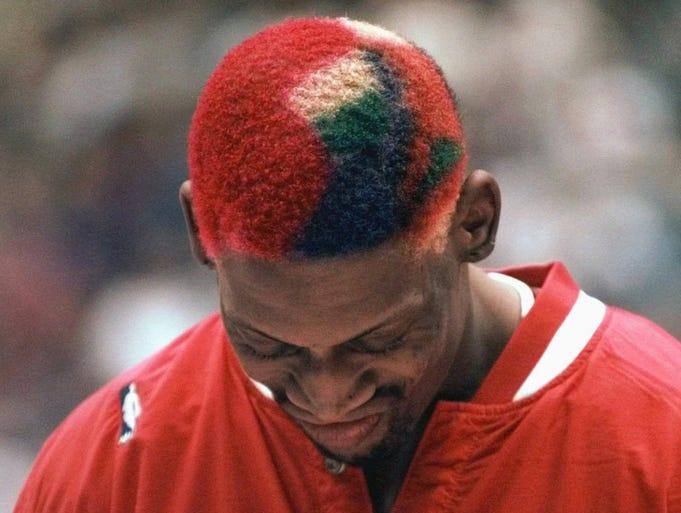 Rodman in 1997.