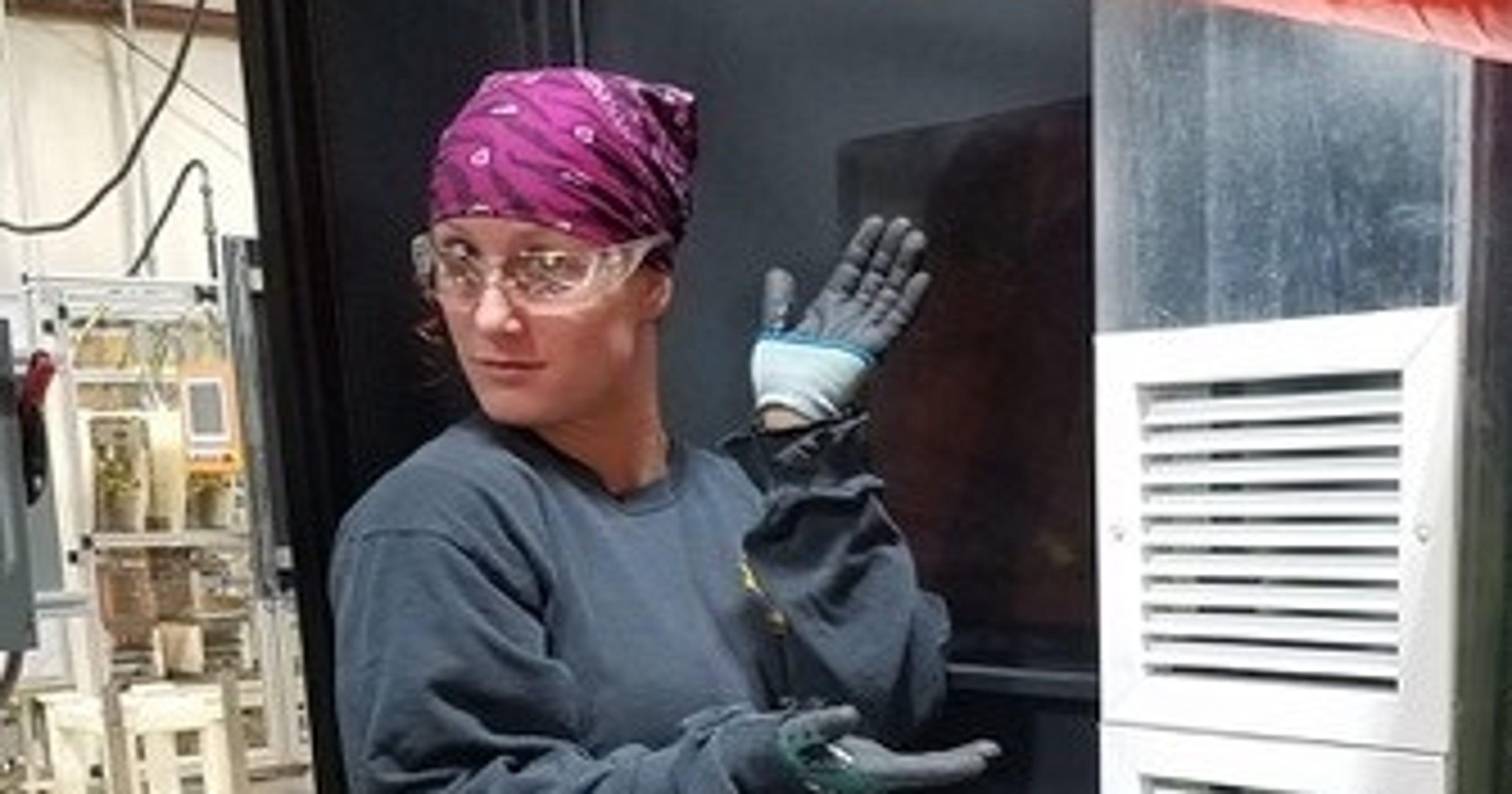 Sheet Metal Worker Expands Her Skills Job Opportunities
