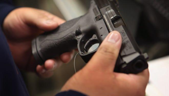 Four Lafayette Parish Sheriff's Office deputies were injured Dec. 12, 2016, when a gun accidentally discharged.
