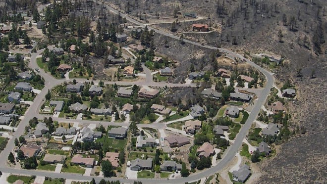 In a fire-adapted community, residents have prepared themselves and their homes to survive wildfire.