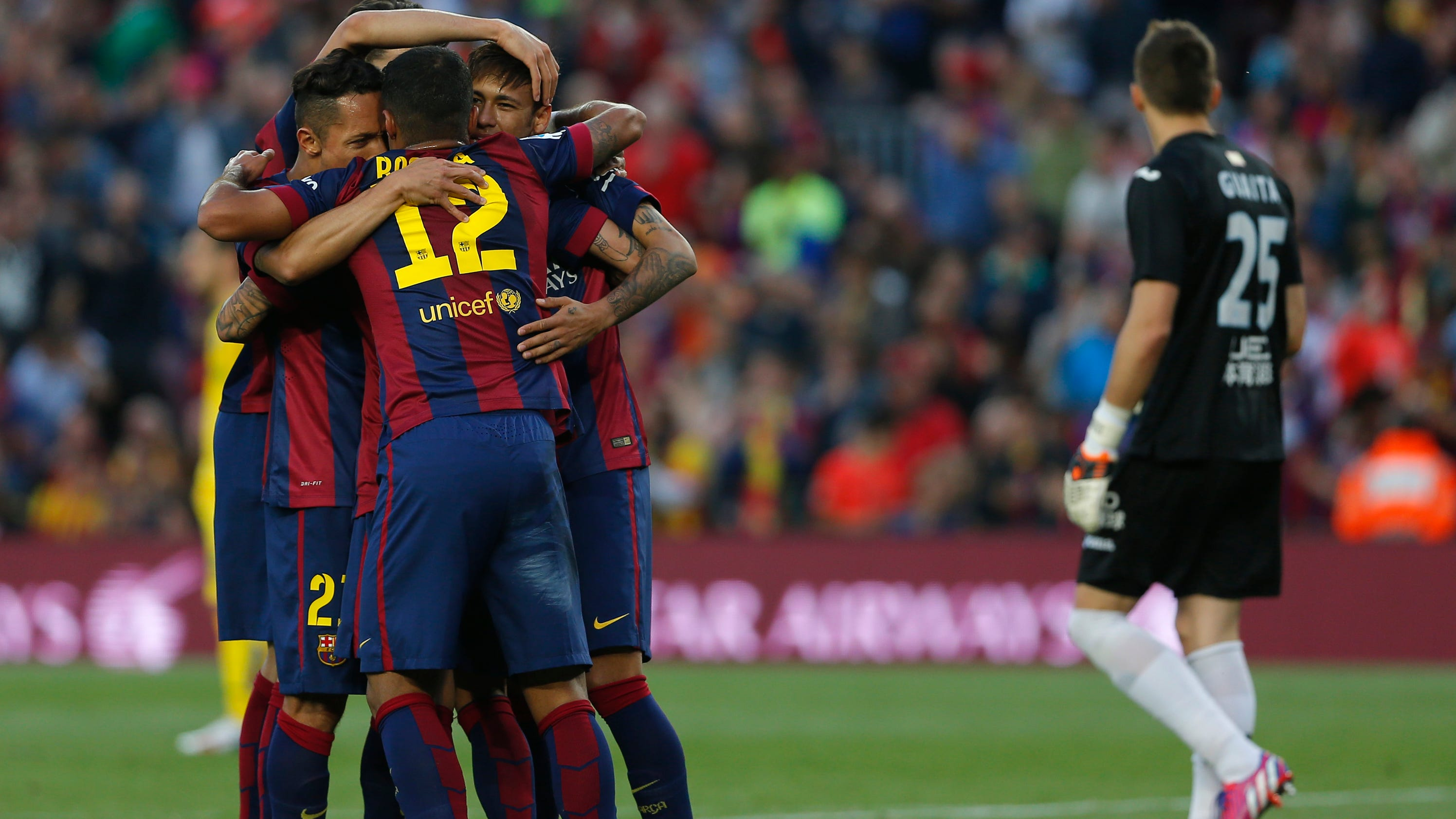 Messi raises goals total to 49 as barcelona routs getafe 6 0 - Firefly barcelona ...