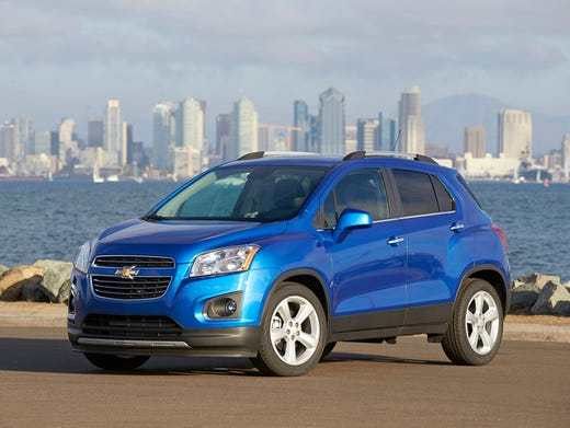 Chevy Small Suv >> Chevrolet Makes Trax For Small Suv Market