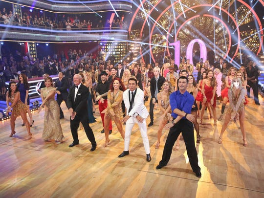 Dancing history was made with the show's largest opening