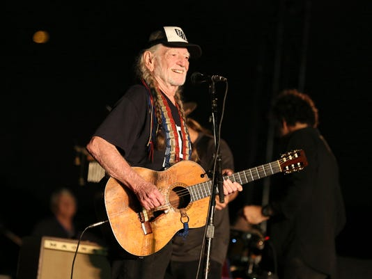 AP WILLIE NELSON IN CONCERT - AUSTIN, TX A ENT USA TX