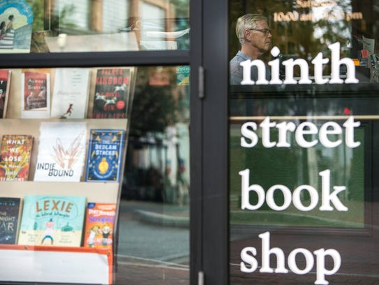 Jack Buckley at Ninth Street Book Shop in downtown Wilmington, which he owned for nearly 41 years with his wife, Gemma.