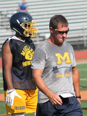 Moeller coach John Rodenberg has plenty of college-level talent on the 2016 Crusaders.