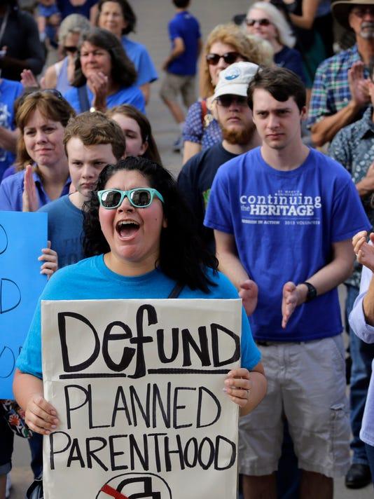 AP PLANNED PARENTHOOD ABORTION VIDEO A USA TX