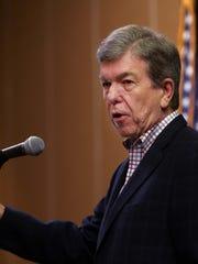 U.S. Sen. Roy Blunt  speaks at the Greene County Republican