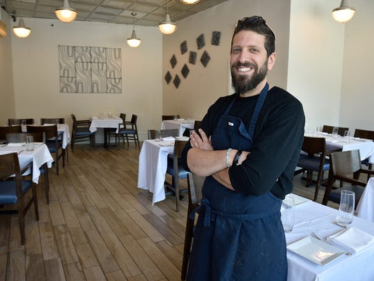 Seth Warshaw of etc steakhouse in Teaneck speaks         about his menu offerings during Rosh Hashanah