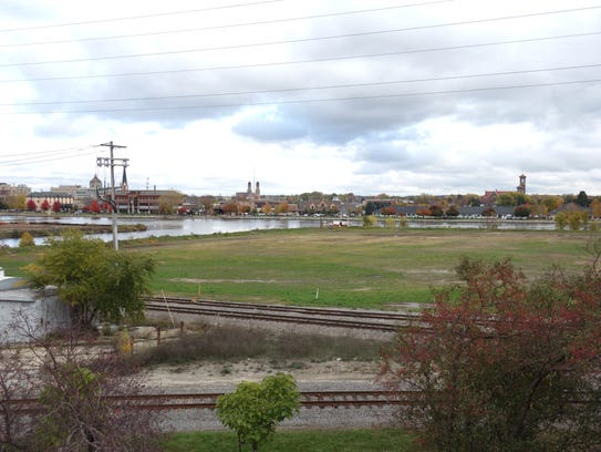 The proposed site of the Shipyard, a multi-use sports