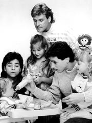 Here's the 'Full House' cast as they looked in the
