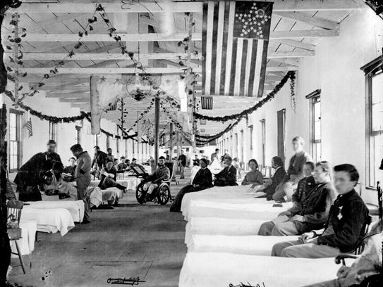 Marine Hospital, was located on the banks of the Ohio