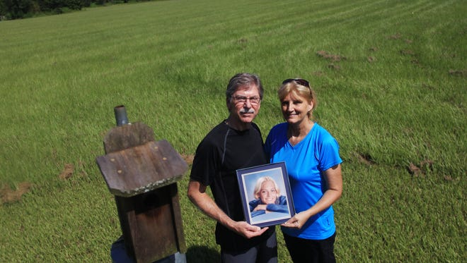 Bill and Mary Bowers are participating in the second  Brookie B Bluebird Run on Labor Day at the J.R. Alford Greenway.