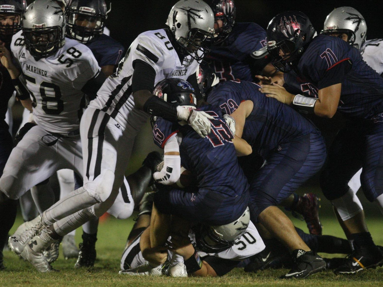 Mariner High is chasing its first winning season since 2007.