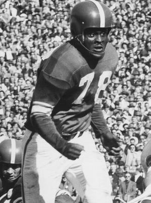 Don Coleman played for Michigan State in the 1950s.