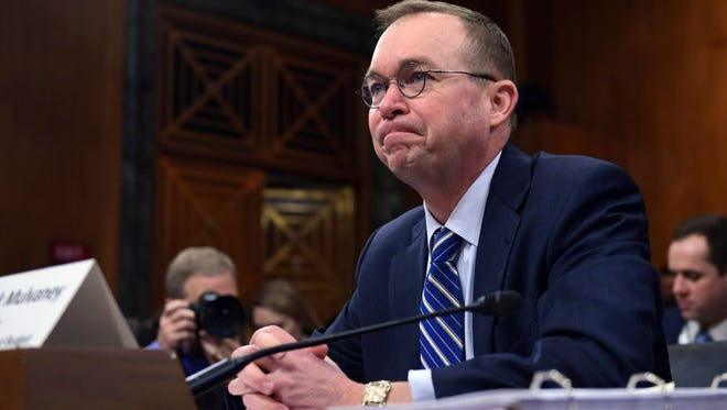 Mick Mulvaney, acting director of the Consumer Financial Protection Bureau.